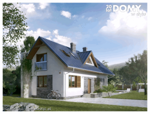 projekty tanich domów